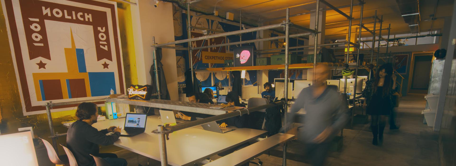 Coworking audiovisual en Ruzafa, Valencia NOLICH