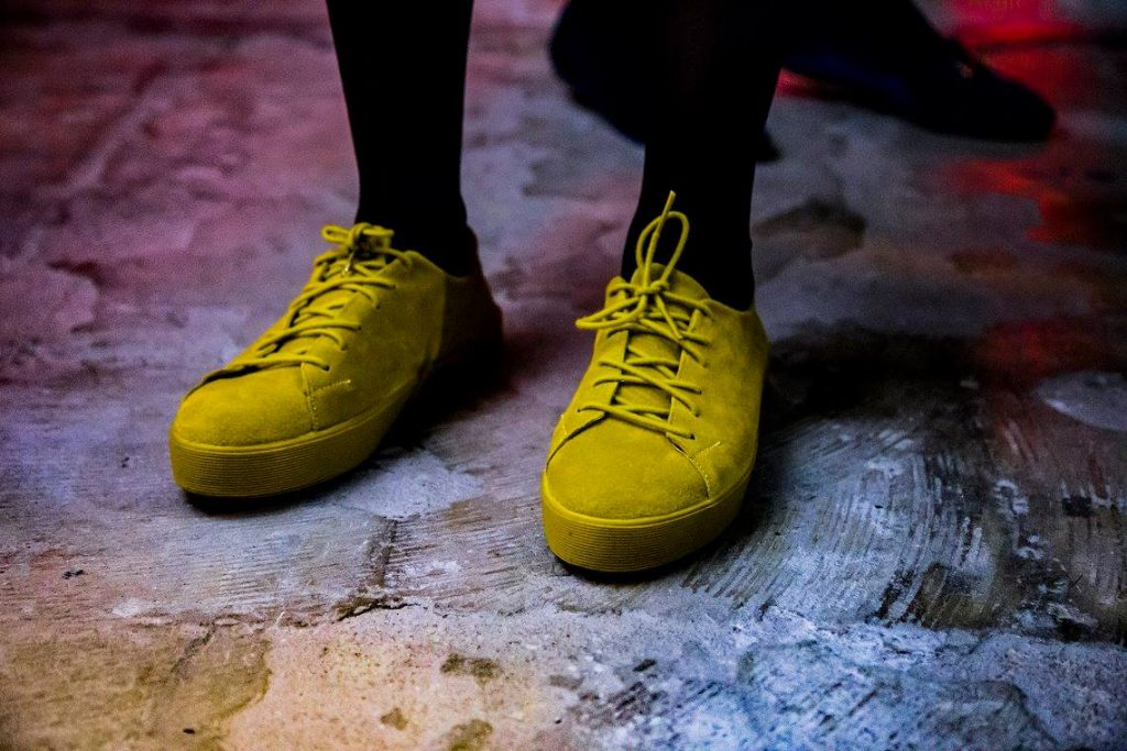 suede lemon - zapatillas vacant