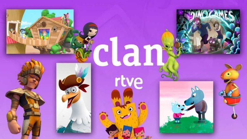 Clan RTVE dibujos animados cine programa infantil