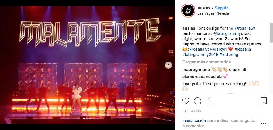 Imagen de la cuenta de Instagram de @ausiasperez