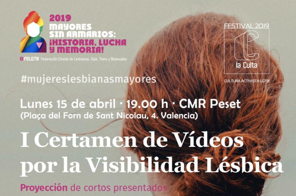 I Certamen de Vídeos por la Visibilidad Lésbica LAMBDA Espacio NOLICH Valencia