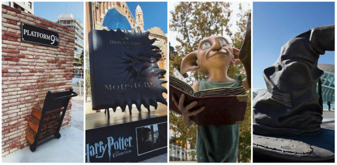 Estatuas Harry Potter Valencia Espacio NOLICH