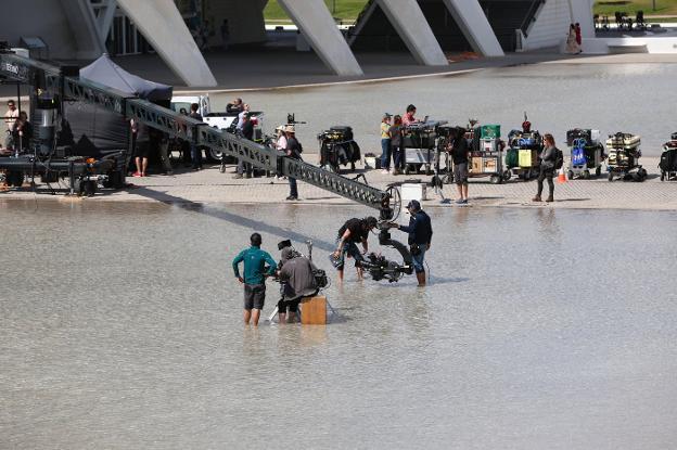 Westworld rodaje ciudad de las artes valencia Espacio Nolich