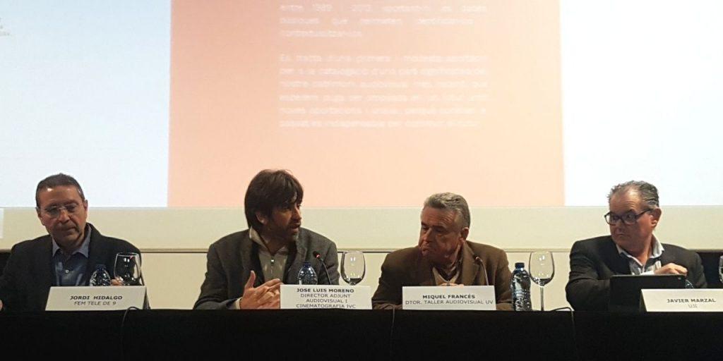 Canal 9 RTVV repositorio conferencia ponencia Espacio Nolich