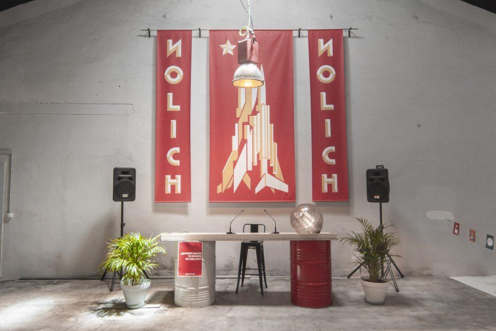 Plató rodajes eventos espacio nolich industrial diseño ruzafa plantas