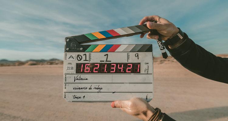 valencia escenario rodaje claqueta filmmaking