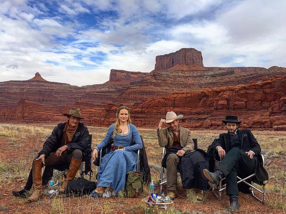 Westworld Desierto Protagonistas Rodaje Espacio Nolich