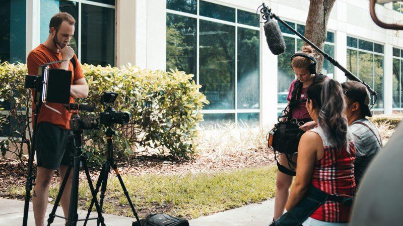 cine rodaje cámara vídeo naturaleza audiovisual ayudas