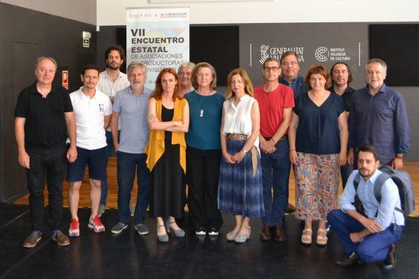 cine reunión federación mapa grupo amigos friends espacio nolich valencia