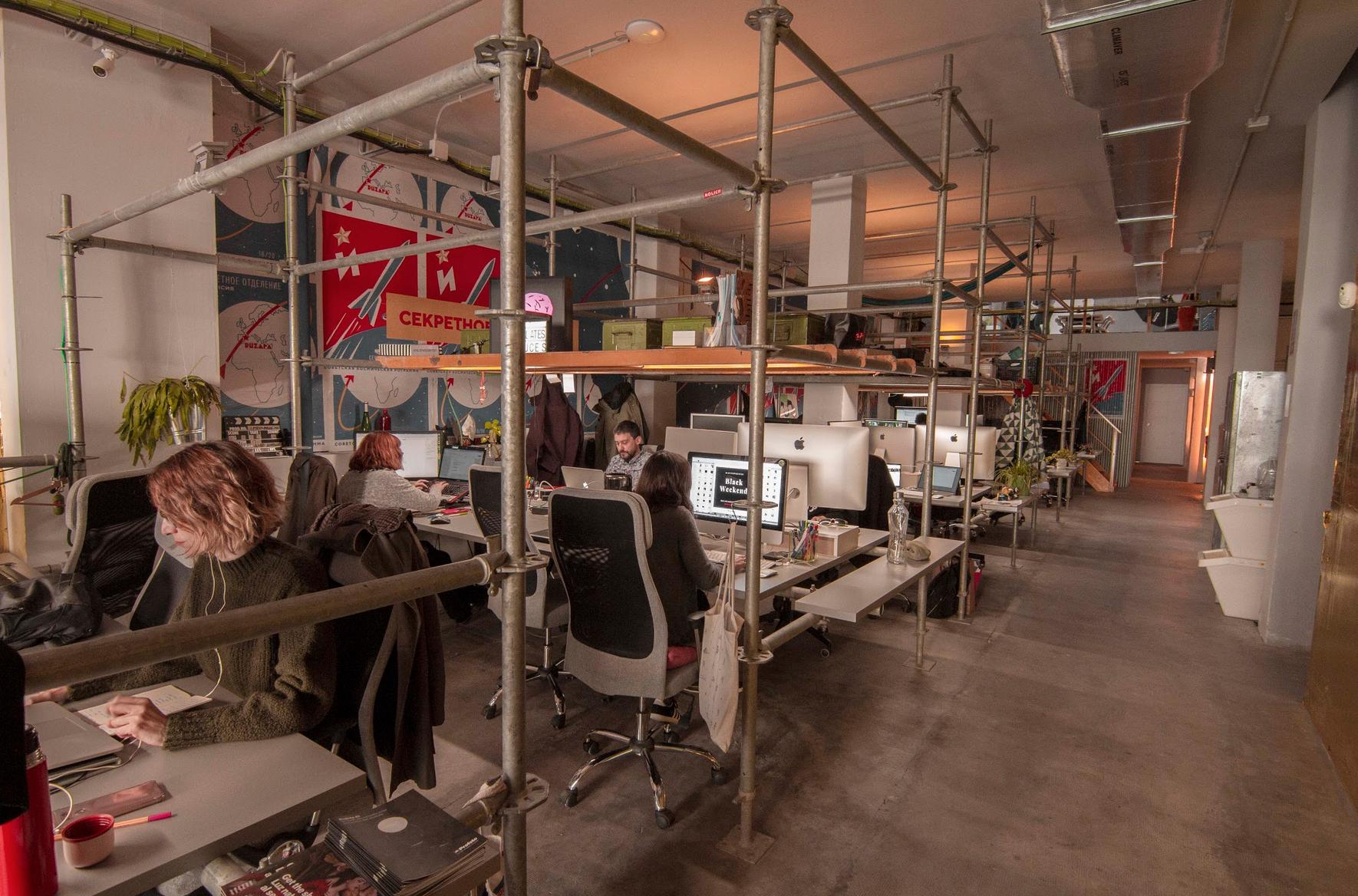 Espacio de Coworking de Nolich ruzafa coworking industrial