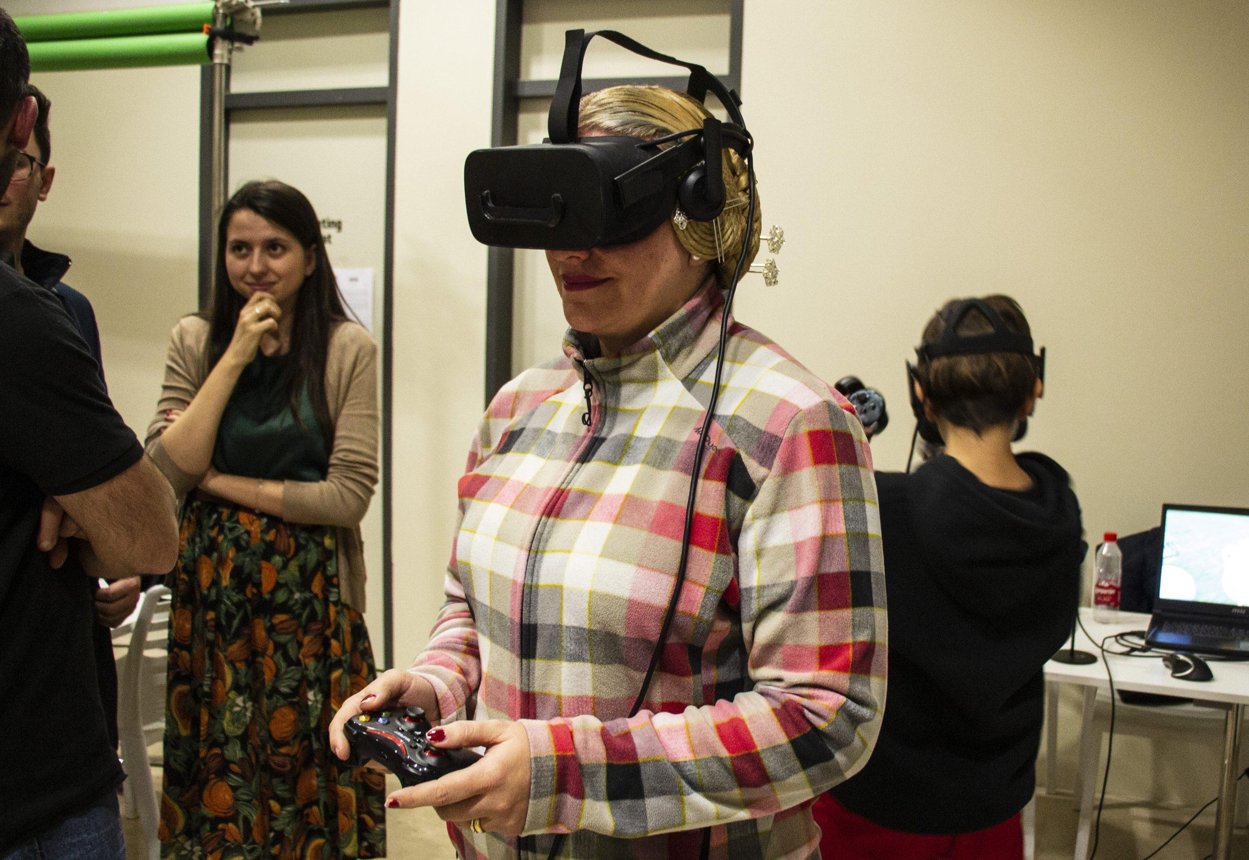 realidad virtual espacio tecnología audiovisual nolich