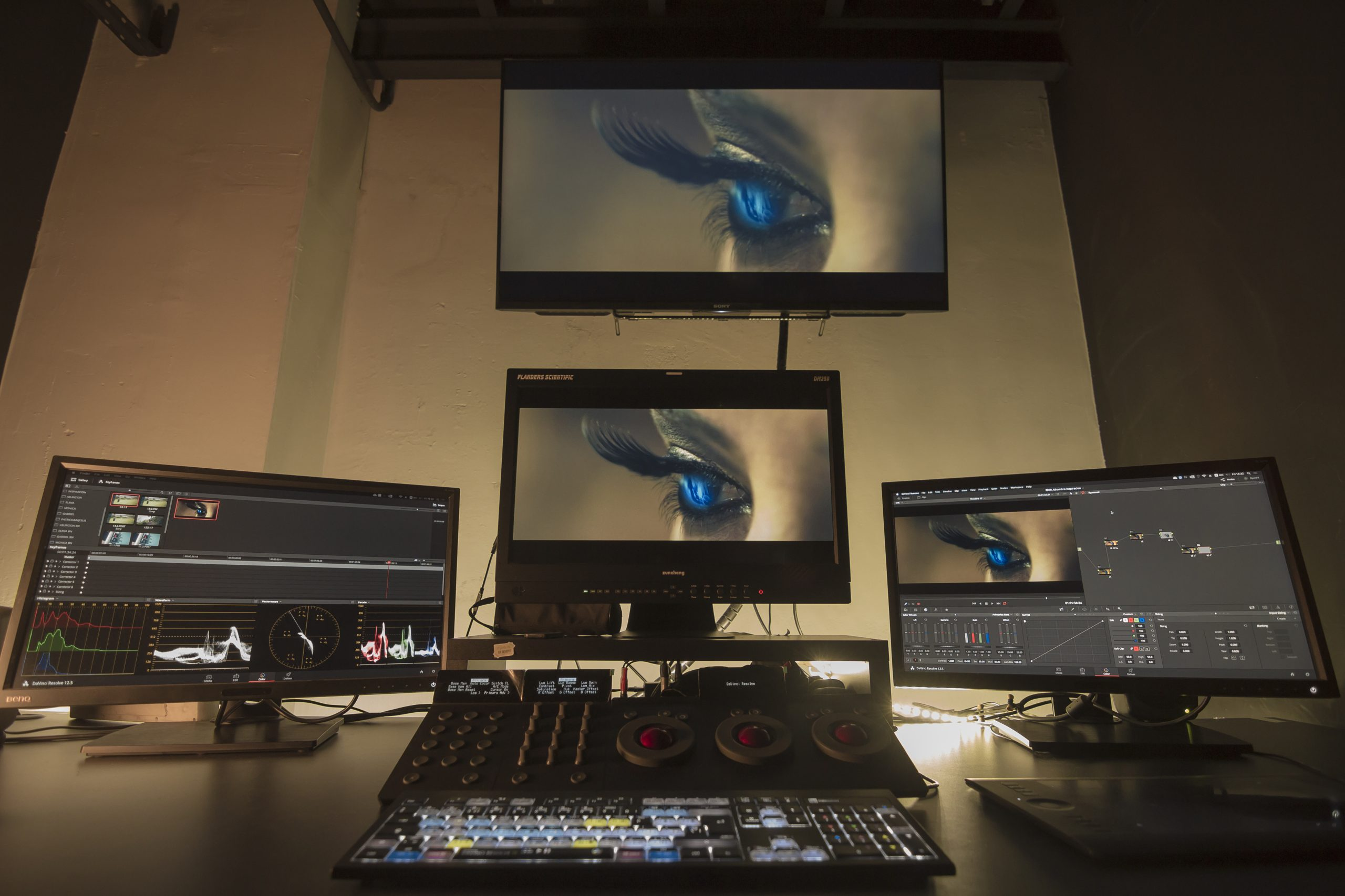etalonaje nolich color grading audiovisual valencia postpo alquiler sala postpo
