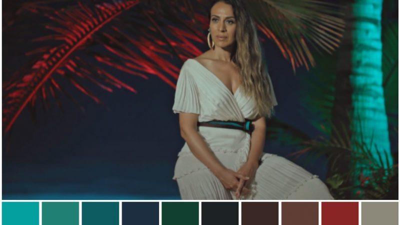 color grading telecinco mediaset la isla de las tentaciones color palette remoto