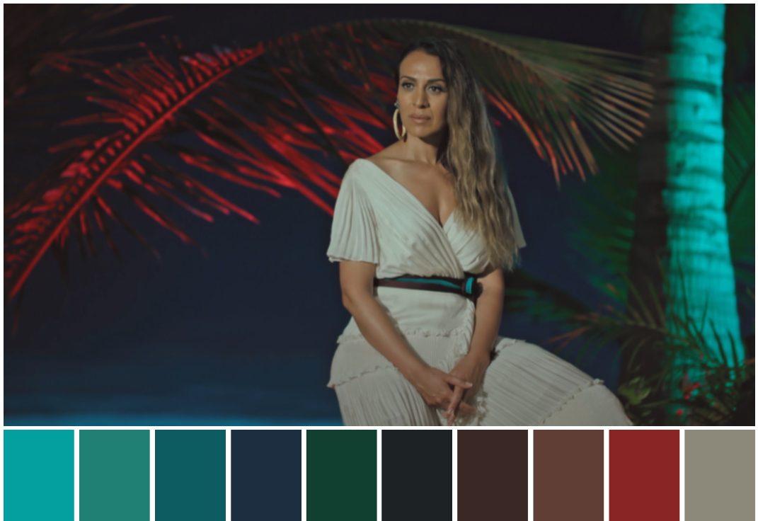 color grading telecinco mediaset la isla de las tentaciones color palette
