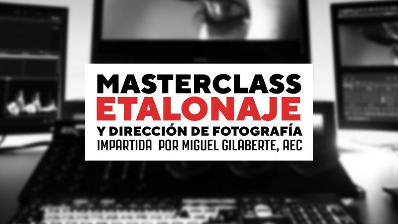 masterclass etalonaje nolich color grading audiovisual valencia postpo alquiler sala postpo